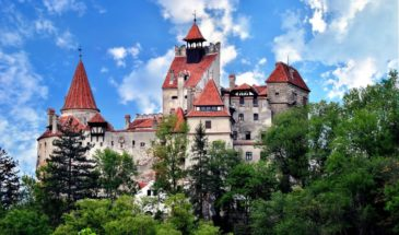 Halloween at Bran castle-coach holidays Transylvania