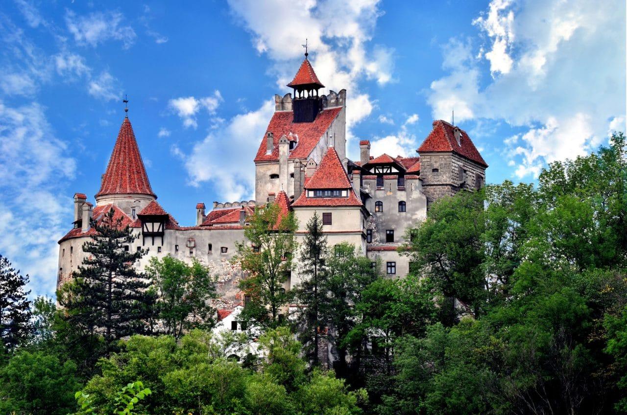 Halloween at Bran castle-coach holidays Transylvania