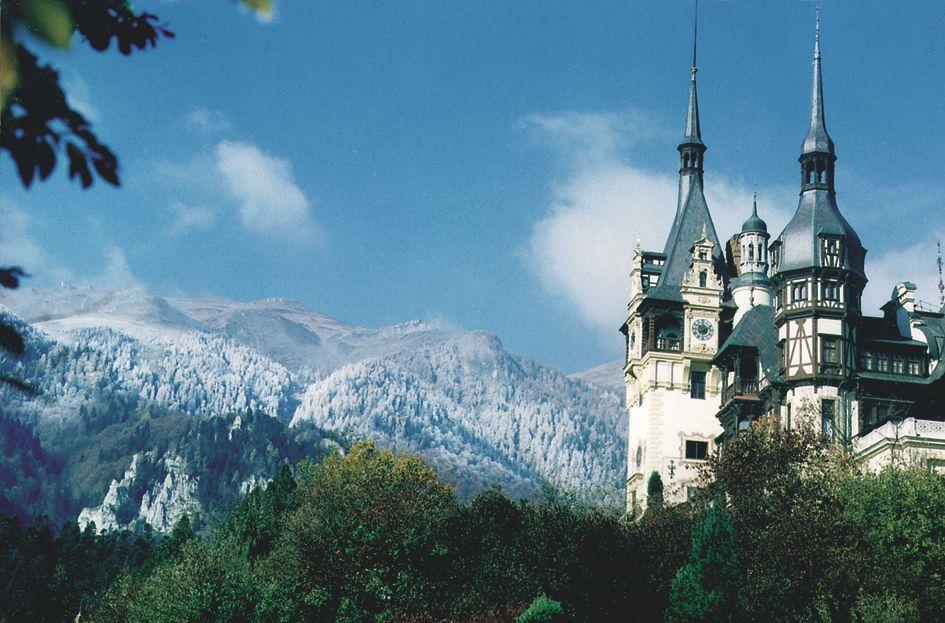 Peles Castle - coach holidays to Transylvania