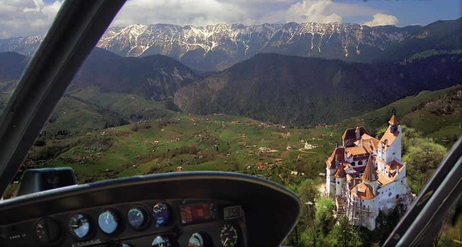 Dracula tour from Brasov - Fly over Bran Castle
